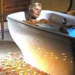 Bath with baking soda. Ванна с пищевой содой. Содовые ванны